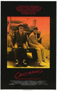 Crossroads movie poster 1986