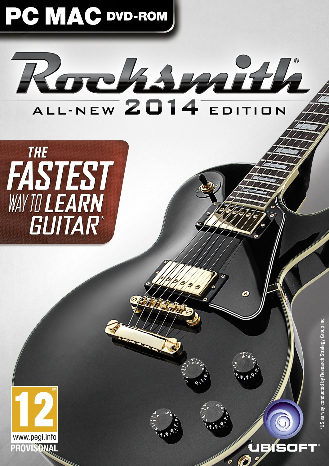 Learn to play guitar with Rocksmith