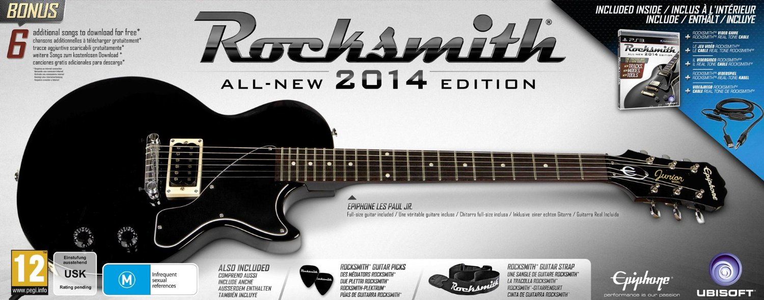 Rocksmith 2014 Epiphone Les Paul Junior guitar pack