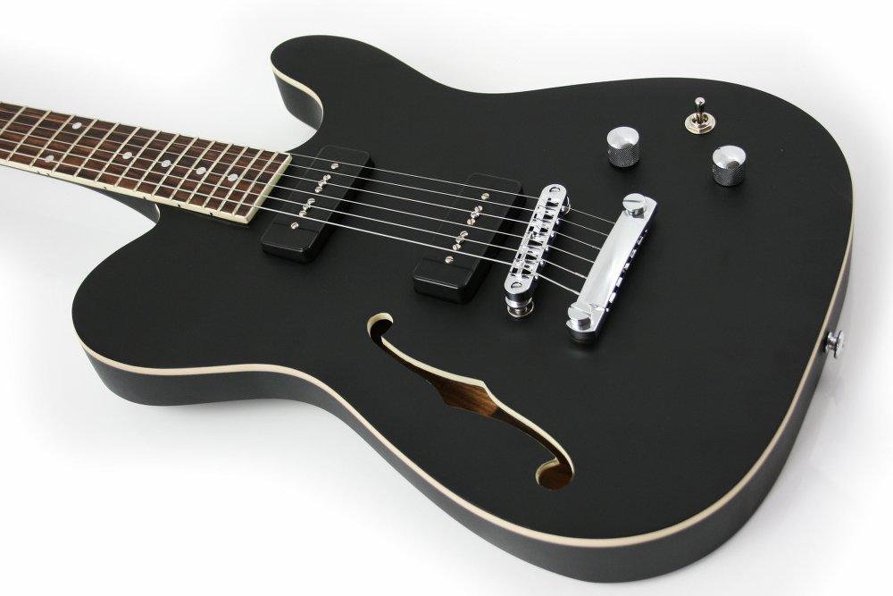 Lindo Dark Defender Semi Acoustic guitar
