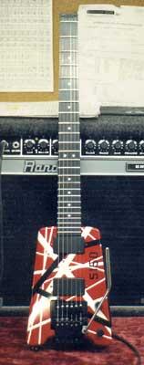 Eddie Van Halen Steinberger GL series guitar