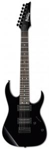 Ibanez GRG7221-BKN seven string guitar