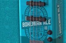 boho bass guitar