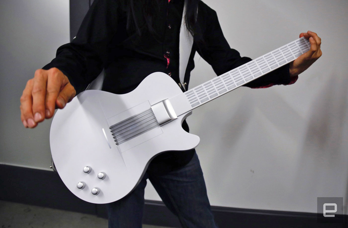 magic instruments guitar is this the future top. Black Bedroom Furniture Sets. Home Design Ideas