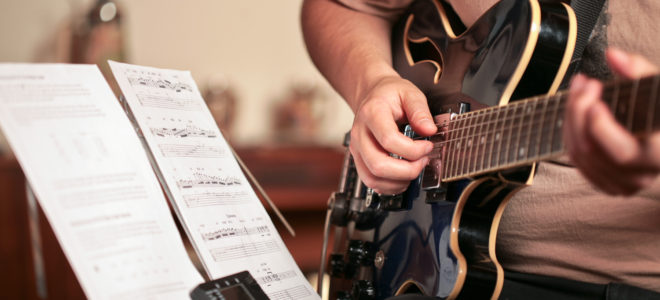 master the guitar with 10000 hours of practise