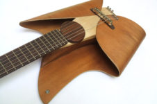 leaf guitar by ezequiel galasso