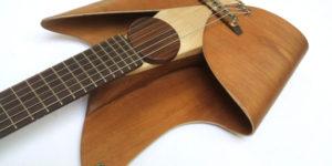 leaf guitar by ezequiel galasso