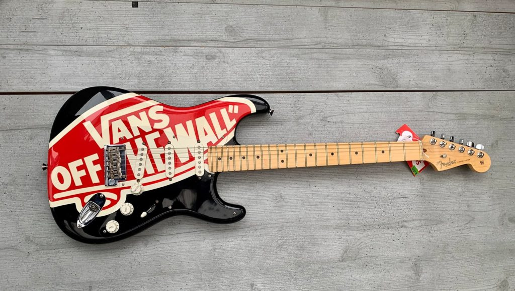 Fender Stratocaster Vans off the Wall 2008