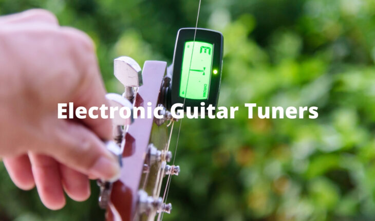 Electronic guitar tuners